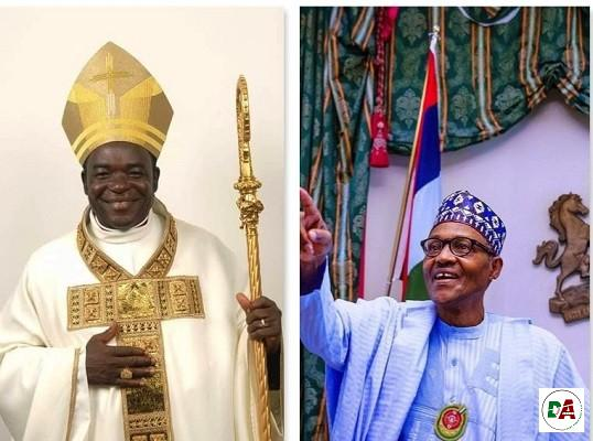You are calling for coup - Buhari's minister replies Bishop Kukah